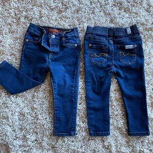 18 month 7 for all mankind skinny jeans